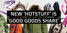 NEW 'HOTSTUFF' IS 'GOOD, GOODS SHARE'