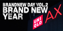 _BRANDNEW DAY VOL.2  @UNIQLO AX