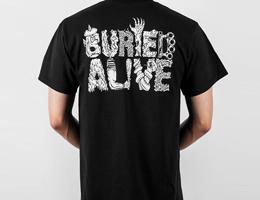 Buried Alive, 프리키 로고 티셔츠 발매