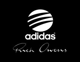 Rick Owens, adidas와 손잡고 런닝화 라인 전개