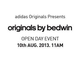 adidas(아디다스), ″Originals by Bedwin″ 컬렉션 발매 오프닝 데이 진행