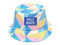 피스메이커(Piece Maker)의 경쾌한 텍스타일이 좋은 버킷햇
