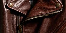 컨피덴셜 레더 재킷