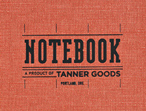 한해의 시작과 어울리는 태너굿즈(Tanner Goods)의 노트