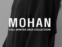 유려하고 우아한 옷들을 선보이는 여성복 브랜드 모한(MOHAN)