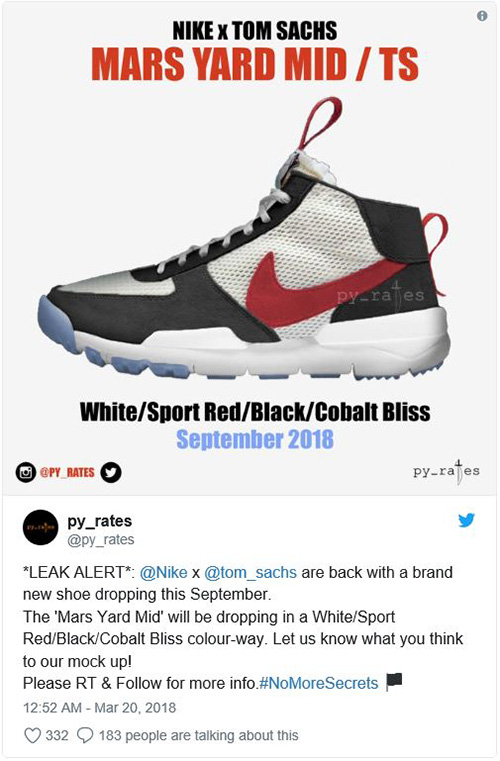 11fbb96f3e0 다시 만난 톰삭스(Tom Sachs)와 나이키(Nike) | 무신사