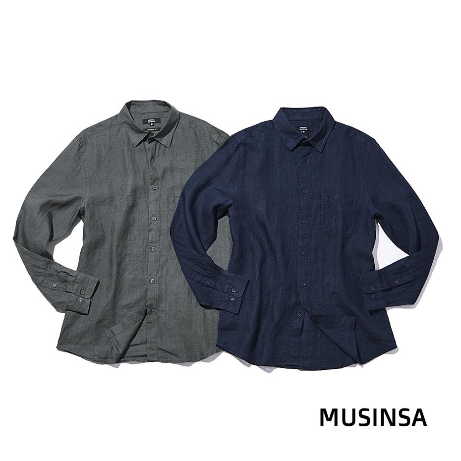 무신사 스탠다드(MUSINSA STANDARD)의 두 가지 린넨 셔츠무신사 스탠다드(MUSINSA STANDARD)의 두 가지 린넨 셔츠 | 무신사