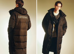 18 F/W DUCK DOWN WARM UP BENCH PARKA