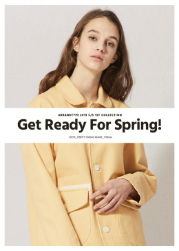 Get Ready For Spring! 봄 아우터 10%할인 판매
