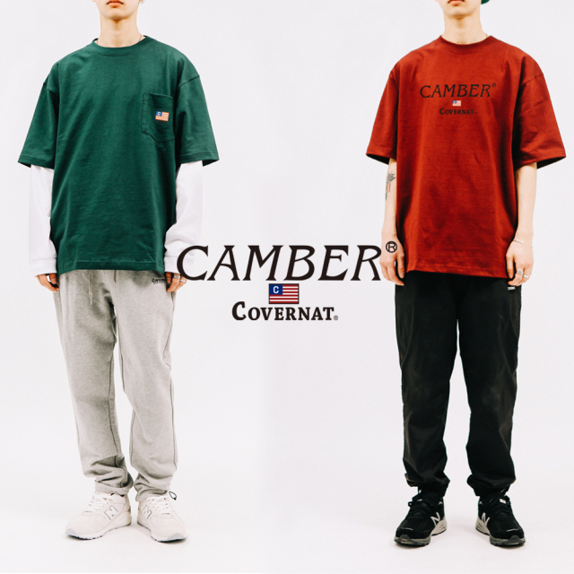 COVERNAT X CAMBER coming soon (2019.04)