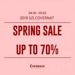covernat spring sale up to 70%