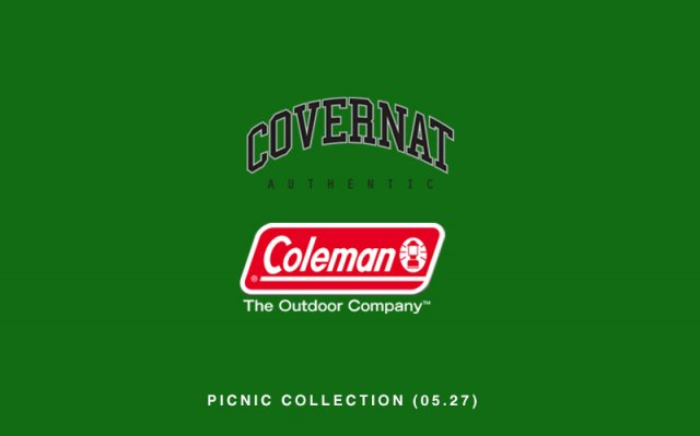 COVERNAT X COLEMAN PICNIC COLLECTION COMING SOON (05.27 MON.)