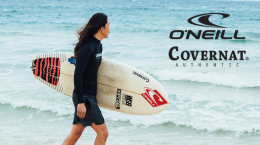 COVERNAT X O NEILL COLLABORATION & EVENT NOW! (06.10 Mon.)