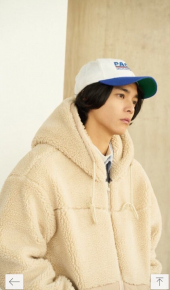파르티멘토_Boa Fleece Hood Zip-Up