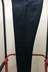 핸스_[HANCE] WINTER SOLID SLIM TROUSER(BLACK)