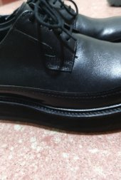릴리즘프로덕트_RELIZMPRODUCT Oil Washing Black Leather Derbys rp171-32078